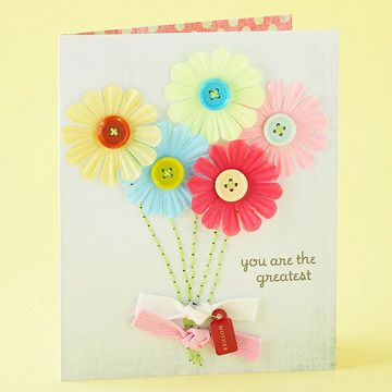 """Great idea for Mother's Day! """"Moms are like buttons, they hold things together"""""""