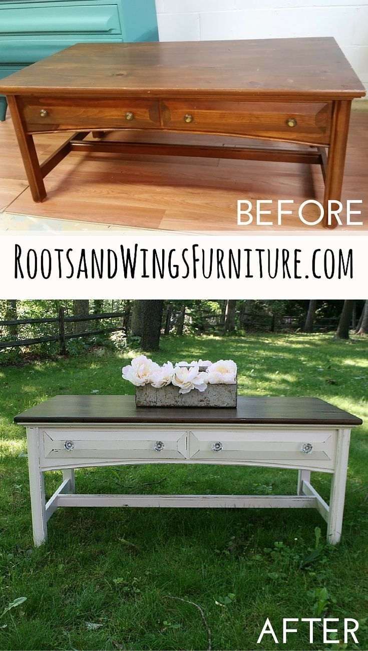 a video tutorial on how to refinish and stain wood by jenni of roots