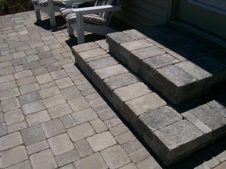 paver patio steps designs 40 best Brick & Paver designs (hardscape) images on