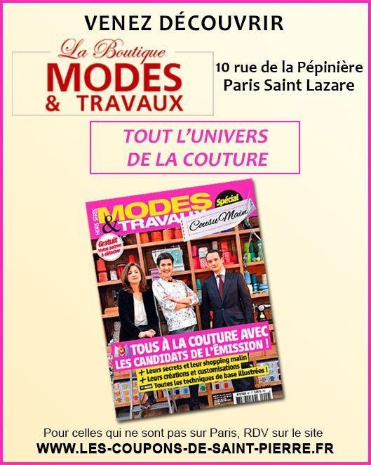 17 best images about parutions magazines on pinterest corsets belle and paris - Les coupons de saint pierre paris ...