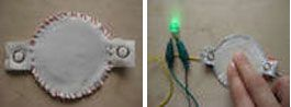 Hannah Perner-Wilson version of a DIY Flexible Fabric Pressure Sensor. via talk2myshirt  (July 2008) #sensor #DIY #howto