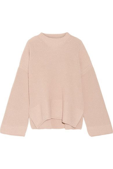 Elizabeth and James - Aimee Cotton-blend Sweater - Beige - small