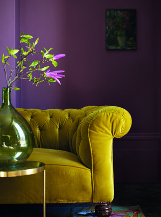 This fab paint colour is Tyrain Rose by Fired Earth