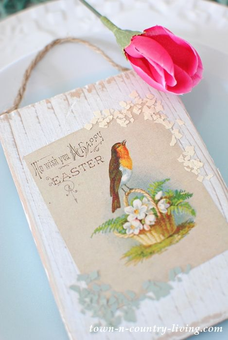 Vintage Easter Printable – Collection of Six Prints to Download   – For the Home