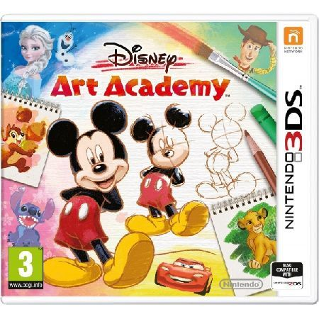 DISNEY Art Academy 3DS Game Discover your inner artist to capture the stunning visuals of over 80 Disney and Pixar characters With advice and lessons inspired by Disney art and Pixar animations learn to use a bundle of different http://www.MightGet.com/january-2017-13/disney-art-academy-3ds-game.asp