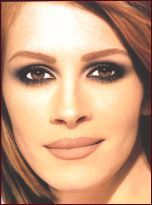 One of my favorites from Kevyn Aucoin's Making Faces. The classic smoky eye/nude lip. Timeless.