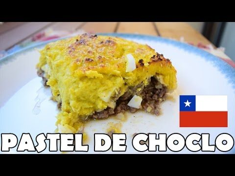 Pastel de choclo (maíz) - YouTube