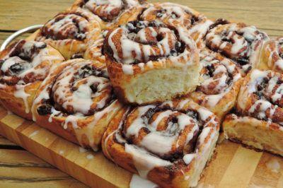 Cinnamon rolls voor het ontbijt of bij de koffie