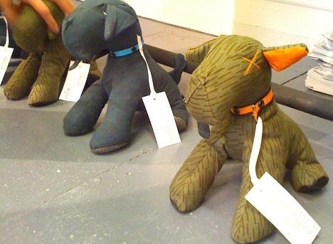 stuffed animals from uniform
