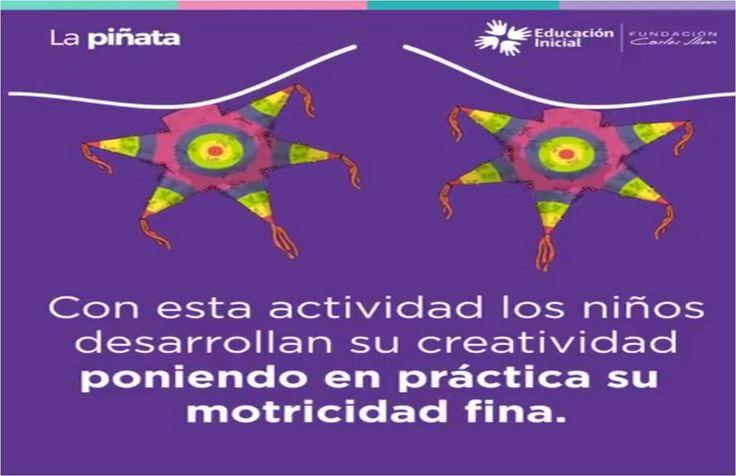 #Piñata #Actividades #Niños #Manualidades #Educación #Estimulación #MotorFIno
