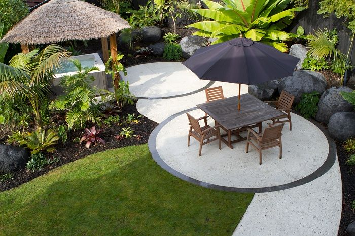 sub tropical garden design nz - Google Search