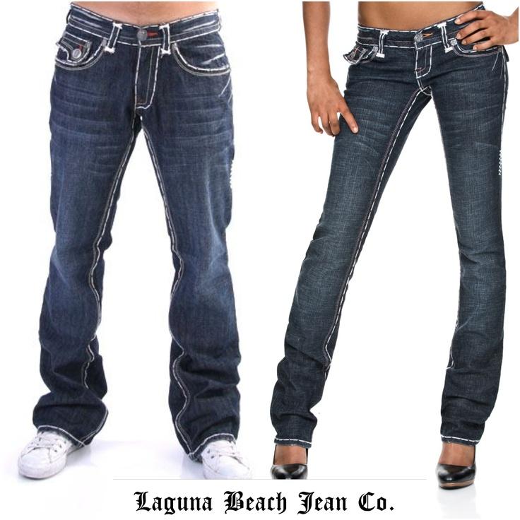 Classic Laguna Beach Jean Co. Double White Stitch Denim - www.shoplbjc.com
