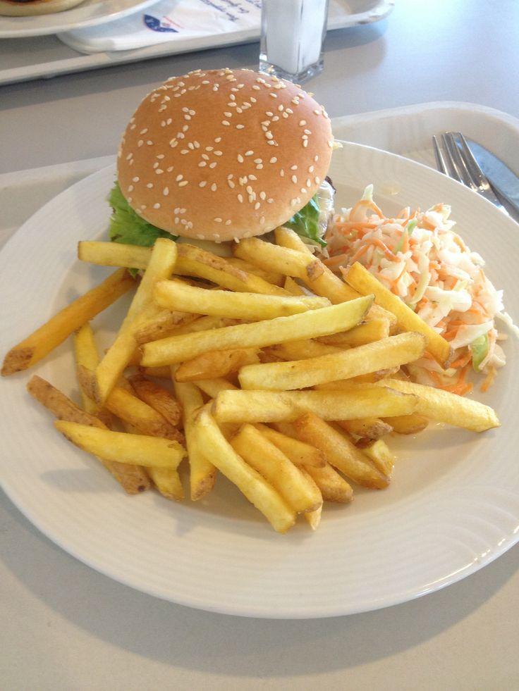 Hamburger-frites