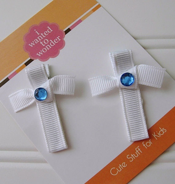 Cross Hair Clips by iwantedtowonder, $4.99