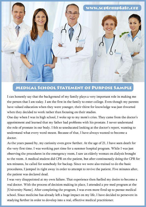statement of purpose medicine Writing a personal statement purpose of the personal statement emergency medicine personal statement family medicine personal statement.