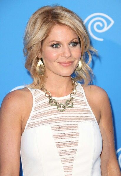 Candice Cameron her hair is fabulous I'm thinking about it......