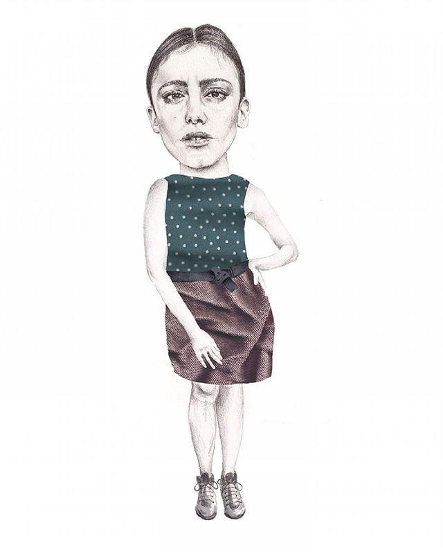 Work in progress, dancing queens. Maria Velat illustration.