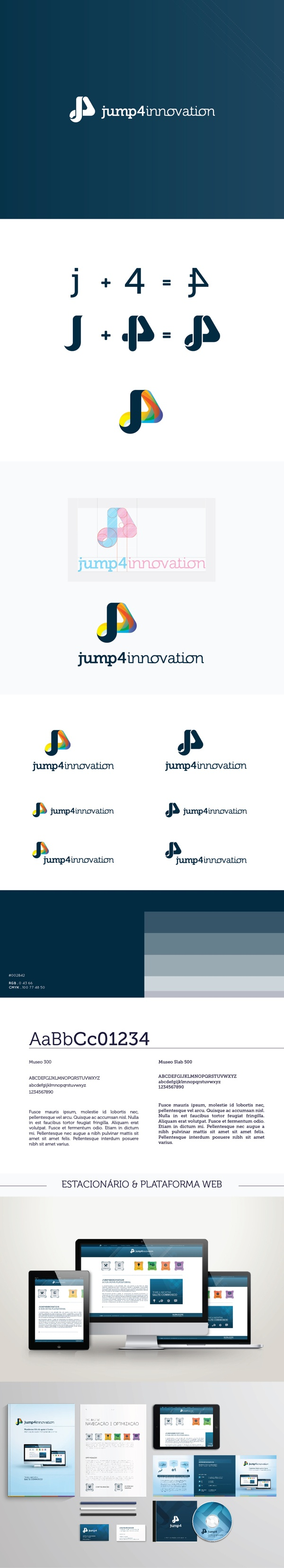 Jump4Innovation by Ana Castela, via Behance