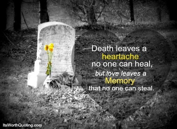 Quotes About Death and Grief