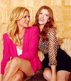 Brittany Snow & Anna Kendrick. They'd make the hottest couple