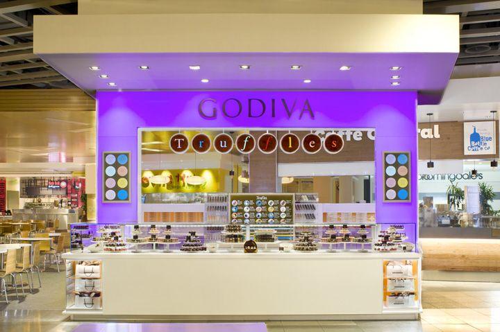 Godiva Truffle Express kiosk by dash design, New York