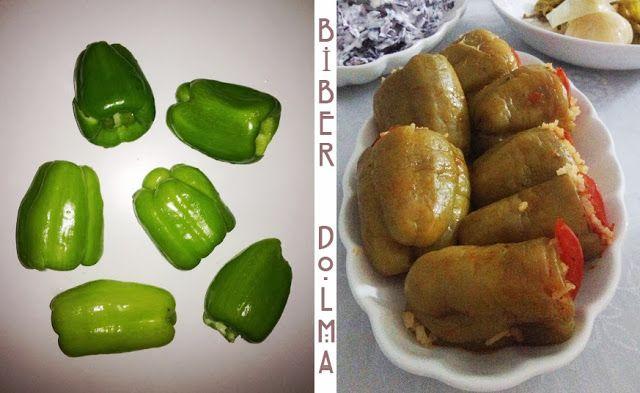 {Recette Turque} Les poivrons farcies | Le Blog d'Istanbul www.leblogdistanbul.com