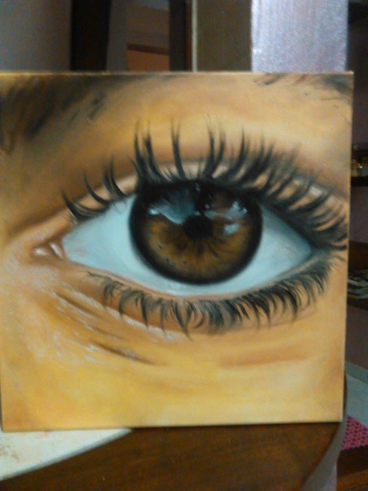 Eye - Painting #eye #painting #art #draw #canvas