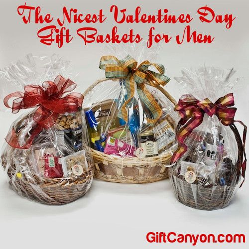 The Nicest Valentines Day Gift Baskets for Men