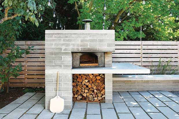 Seattle Magazine | Home and Garden/Outdoor Living/Backyard | With a Pizza Oven…