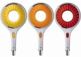 Grohe Rainshower Icon shows off it's different colors