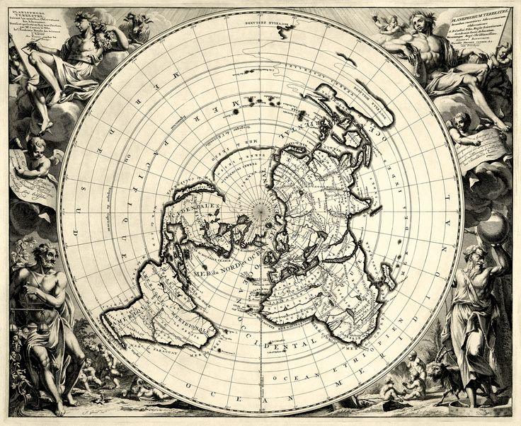 44 Best Maps Images On Pinterest Flat Earth Maps And