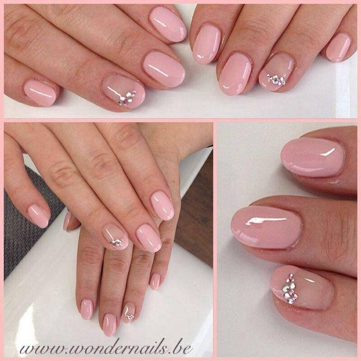 Cute soft pink nails ️ Gorgeous nailart | GelNails ...