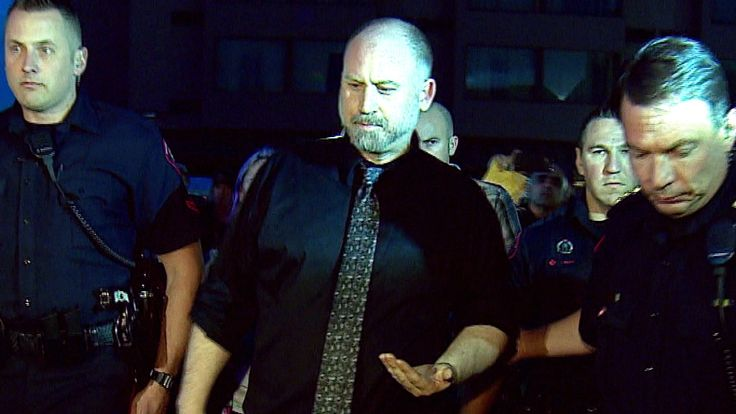 Calgary police take pot activist Dana Larsen into custody at seed handout event - Calgary - CBC News