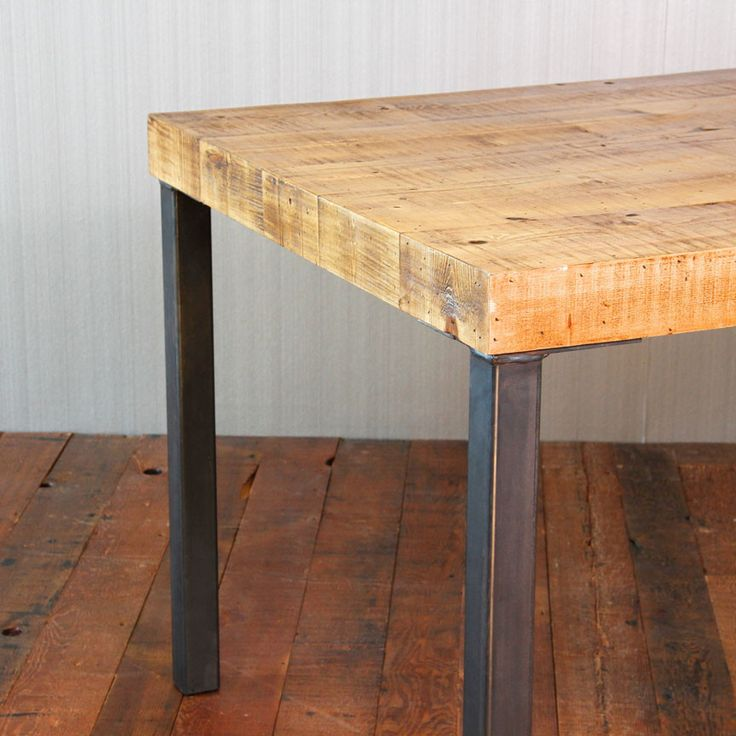 17 Best Ideas About Reclaimed Wood Dining Table On