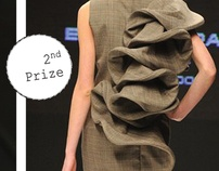 2nd Prize in Young Fashion Designers Contest by Eduarda Brandão, via Behance