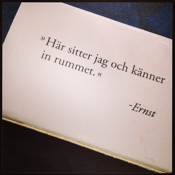 Said Sanna never. Ny höst. Nya tag. Nya citat to live by.