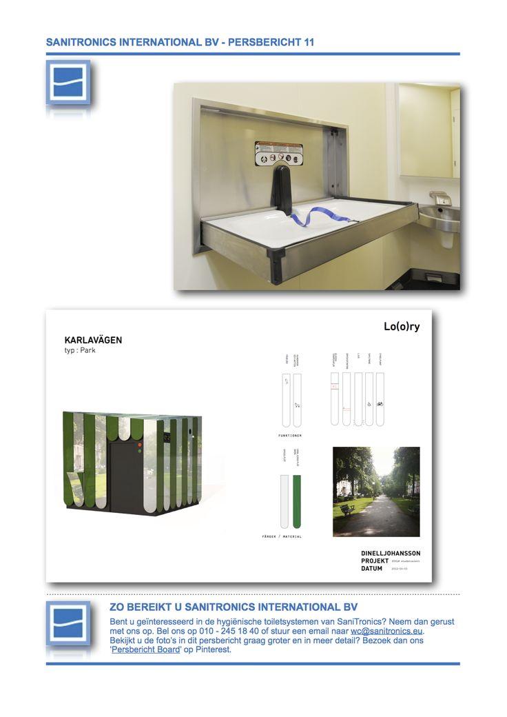 Persbericht 11 Hollands Glorie in Stockholm, Zweden, versie 01, deel 02. Expertise in openbare toiletten en zelfreinigende toiletsystemen.