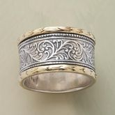 would make a beautiful anniversary band, if only the RA were not a factor in my fingers!