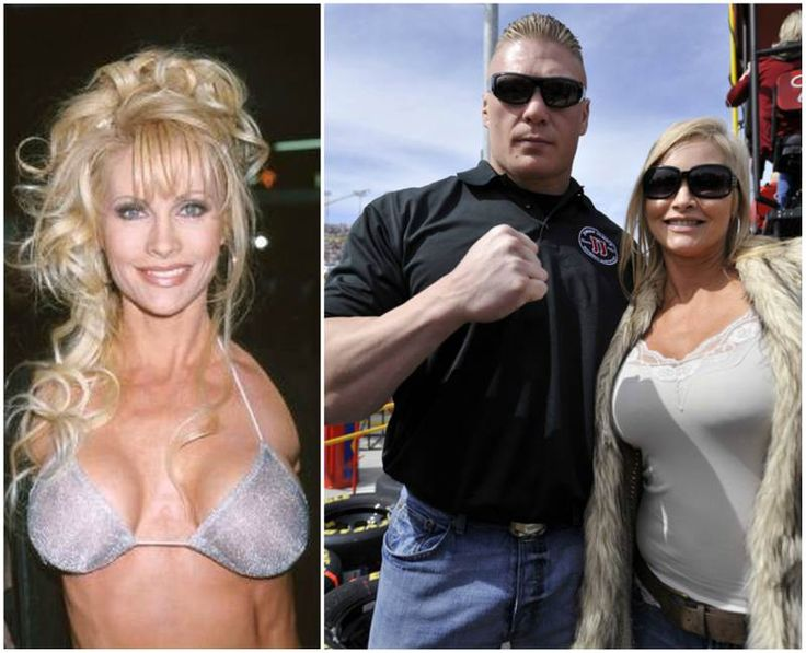 Brock Lesnar's family - wife Rena Lesnar