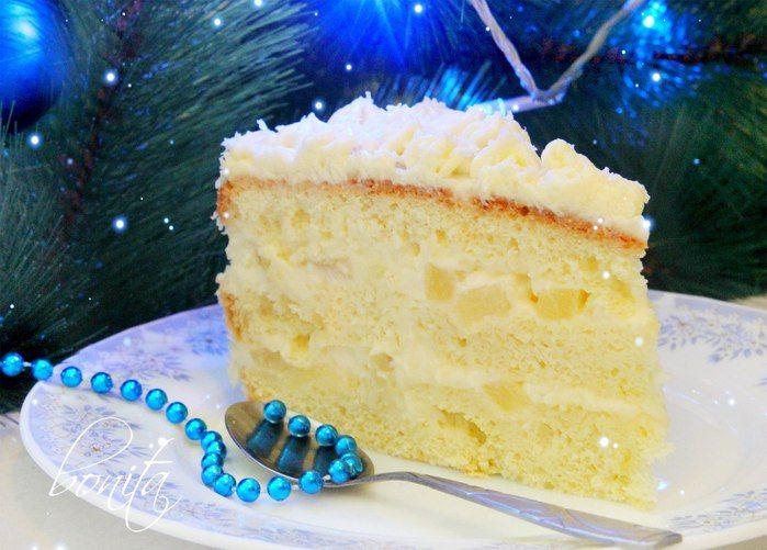 """самый нежный и вкусный Торт """"Ананасовый"""""""