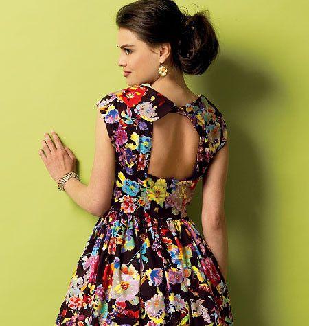 B5919 Misses' Dress   Easy