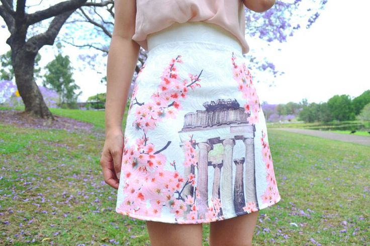 Sil's Delphine skirt - sewing pattern by Tilly and the Buttons