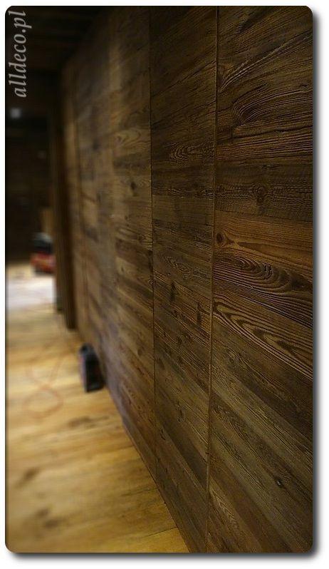 szafa ze starego drewna/ armoire en vieux bois