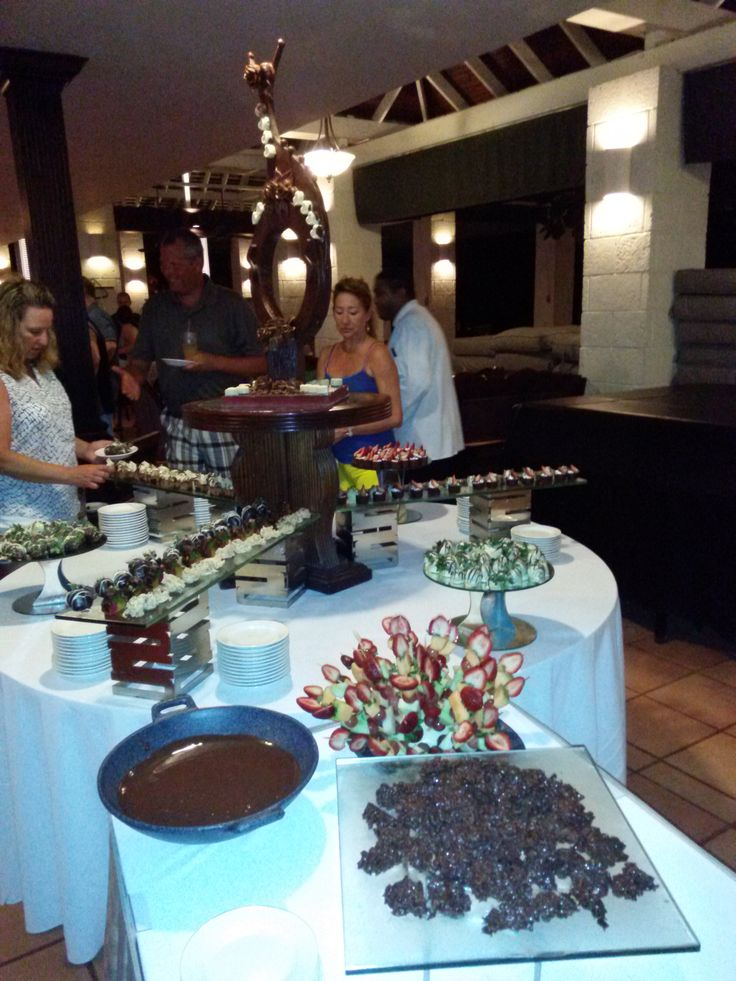 Experience the chocolate buffet during your stay