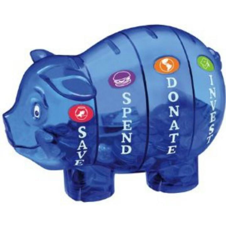 Categorized Piggie bank