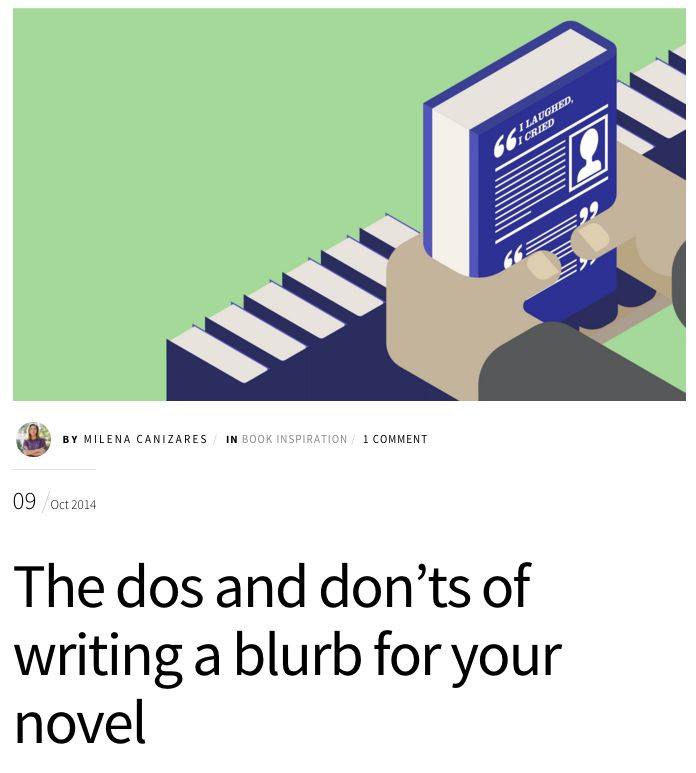 How To Write A Blurb About Yourself For A Website