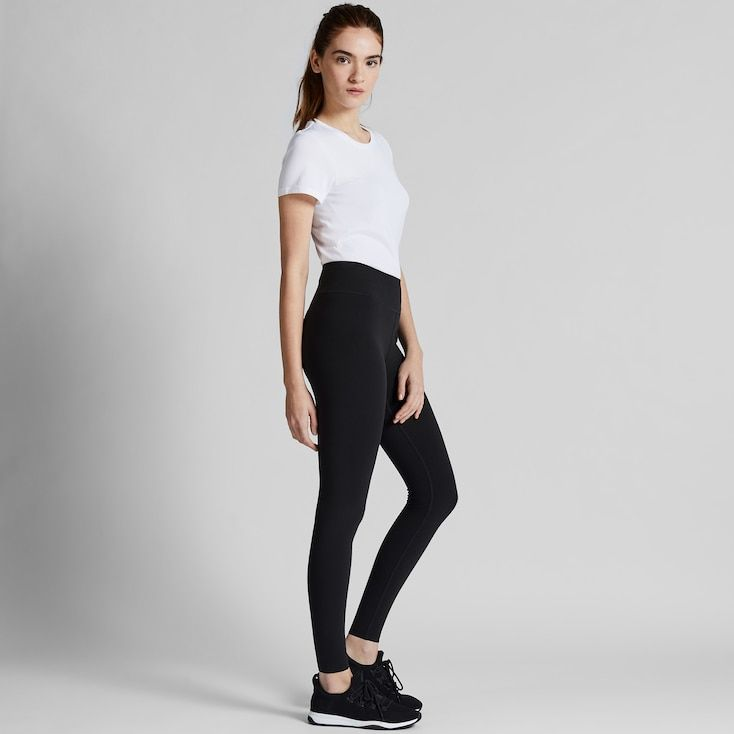 Uniqlo Women S Airism Soft Leggings Black Xxs Joggers Womens Best Leggings Uniqlo Leggings