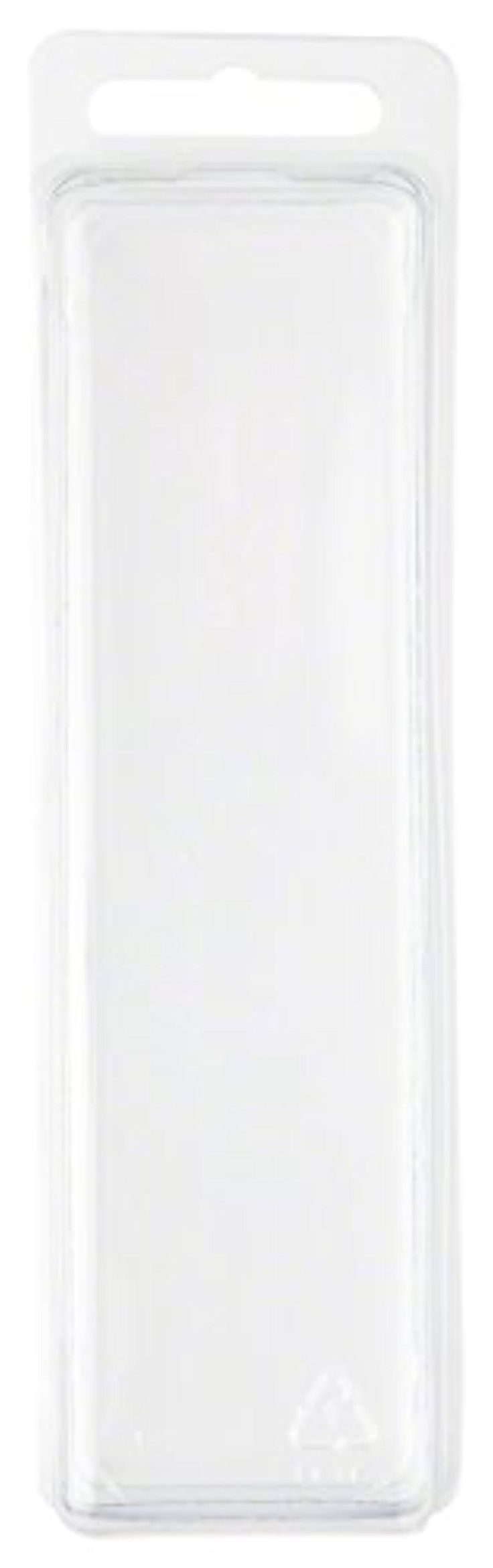 """Clear Plastic Clamshell Package / Storage Container, 5.5"""" H x 1.5"""" W x 1.25"""" D - Brought to you by Avarsha.com"""