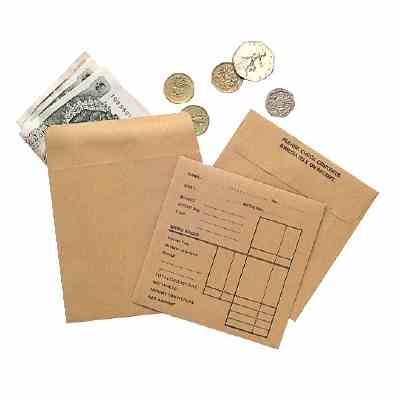Pay Day:  Your Money was Placed in These Paper Wage Packets, Placed in Your Hand, Then You Placed it in Your Pocket.
