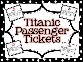 Passenger tickets on pinterest titanic survivors history of titanic passenger tickets pronofoot35fo Images